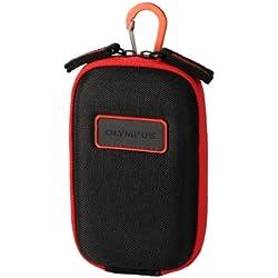 Olympus CSCH-107 Boîtier Compact Noir, Rouge étui et Housse d'appareils Photo - Étuis et Housses d'appareils Photo (Boîtier Compact, Olympus, TG-630, TG‑4, Noir, Rouge)
