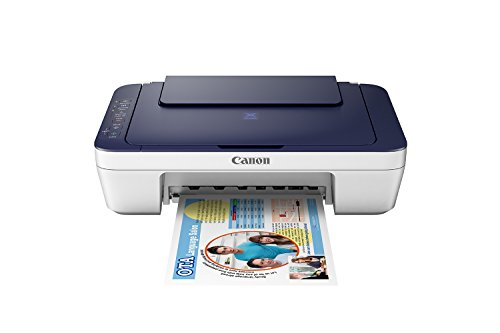 Canon Pixma E477 All-in-One Wi-Fi InkJet Printer (White/Blue)