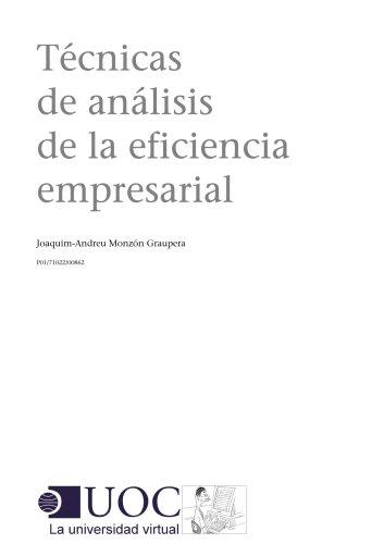 Técnicas de análisis de la eficiencia empresarial