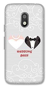 Moto G4 Play Designer Hard-Plastic Phone Cover Fri Am Taken Print Opera -Wedding Bells