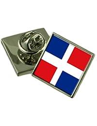 República Dominicana Bandera Insignia de solapa 18mm Seleccione bolsa de regalo
