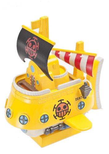 one-piece-chara-coin-bank-trafalgar-law-ship-megahouse-toy-japan-import