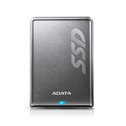 ADATA SV620 480GB Externe Solid State Drive mit Lesen und Schreiben bis zu 420 MB/s und 440 MB/s