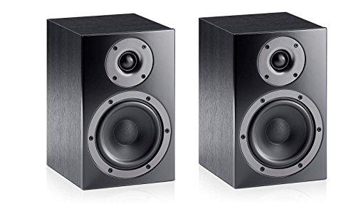 Teufel Heimkino Paar Satelliten-Lautsprecher HiFi Speaker T 130 F - MDF schwarz