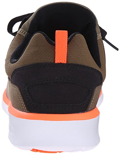 DC Mens Heathrow Casual Skate Shoe Olive