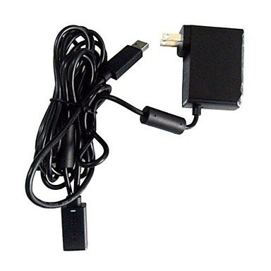 WH US AC Power Supply Cable Cord Adapter for Microsoft Xbox 360 Kinect Sensor Camera