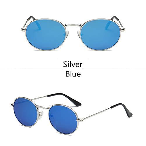 HYUHYU Cute Sexy Retro Oval Sonnenbrille Frauen Berühmte Marke Kleine Gold Schwarz Vintage Retro Sonnenbrille Weibliche Rote Eyewear