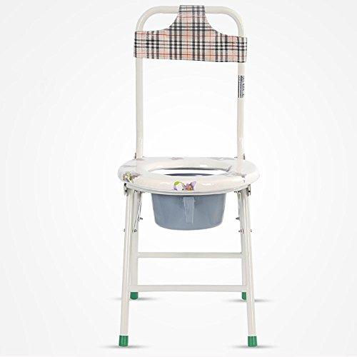 BBIAY Silla cómoda silla de pacientes ancianos Sillas de baño Cómoda silla Silla inodoro inodoro , Photo Color