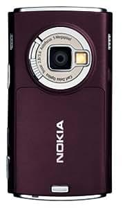 Nokia N95 Téléphone portable Bluetooth GSM / MMS Appareil photo mp3 Radio FM Carte microSD Prune fonce