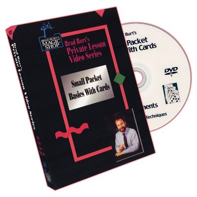 Small Packet Basics With Cards by Brad Burt - DVD