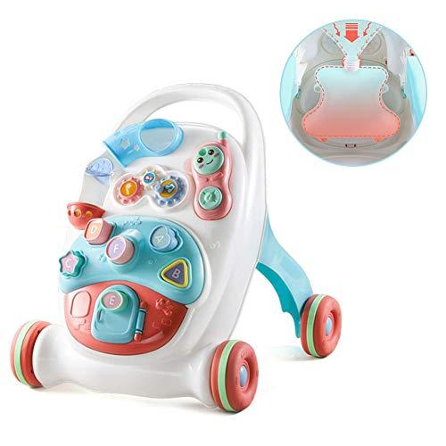 Primeros Pasos Bebé Andadores, Andador De Bebé Interactivo, Patas De Goma Antideslizantes, para Bebés...