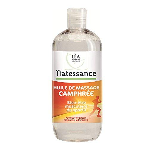 Natessance Huile de Massage Camphrée 500 ml