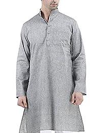 Royal Men's Khadi Linen Casual long Comfortable Kurta