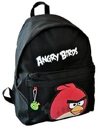Angry Birds 7599000-wop - Mochila con diseño de pájaro, color negro