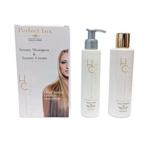 Kit Perfect Lux effet Botox shampooing crème 400ml HC Prestige