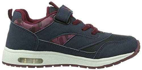Lico  Cool VS Blinky, Chaussures spécial sports en salle pour garçon bleu (Blu (Blau (marine/bordeaux)))