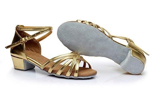 Vesi - Scarpe da Ballo Latino/Ballo Liscio per Donna e Bambina Oro