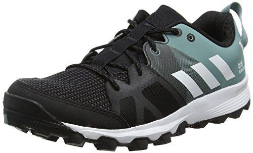 adidas Damen Kanadia 8 TR W Laufschuhe, Schwarz (Color Core Black/ White/Vapour Steel), 36 EU