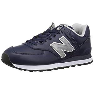 New Balance Herren 574v2 Sneaker, Black/Flame, One Size