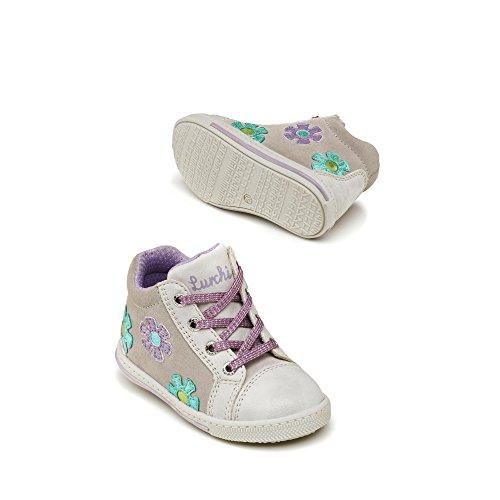 Lurchi33-14571-25 - Pantofole Bambina Grigio (Grigio)