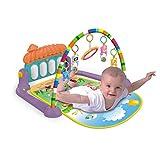 WDXIN Baby Spielmatte Spielteppich Krabbeldecke Pedal Klavier Fitness-Rack Babyspielzeug Multifunktional Früherziehung Musik Baby Kriechende Matte.