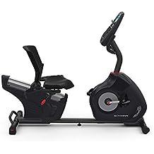 Schwinn 570R, Bicicleta Estática Reclinada, con Respaldo, Bluetooth, MP3, Aplicaciones Deportivas
