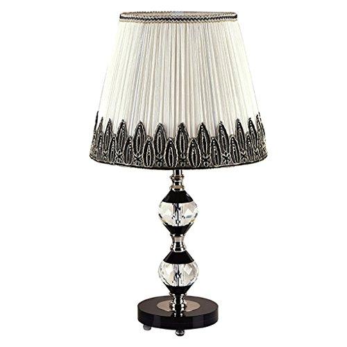 Crystal-kristall-palast (Home experience- Palast kreative Tisch Lampe Schlafzimmer Nachttisch K9 Kristall Tisch Licht warm Hochzeit Geschenk)