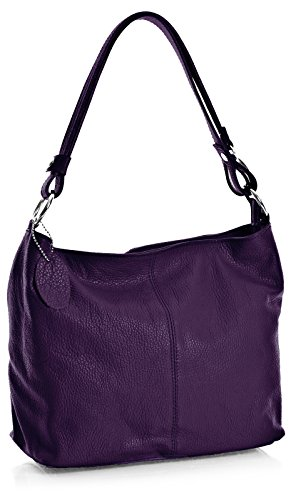 Big Handbag Shop, Borsa a spalla donna One Deep Purple