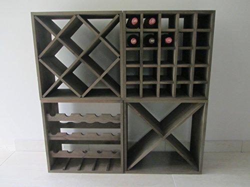 Best Weinregal ca. 90 Flaschen Flaschenregal Weinflaschenregal Regal OVP