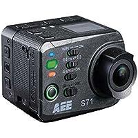 AEE S-71T Full HD Wifi cámara para deporte de acción - Cámara deportiva (Full HD, Negro)