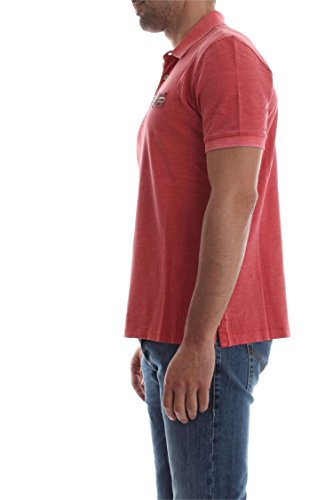 Napapijri Herren Poloshirt Edensor Rot