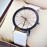Relojes de El hombre, Relojes de pulsera El hombre banda de cuero relojes de acero inoxidable para...