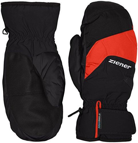 Ziener Kinder LIZZARDOLO AS(R) Mitten Glove junior Handschuh, Black, 3 | 04052928546739