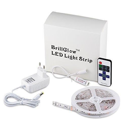 Strisce LED Multicolore SMD 5050 60LEDs/M striscia chiara impermeabile adesivo