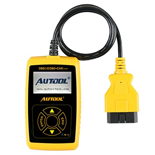 Escáner de códigos de error Autool CS320 para el motor del coche de protocolo OBD2