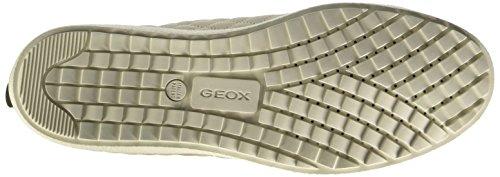 Geox D Amaranth B Abx A, Sneakers Hautes femme Beige (C6738)