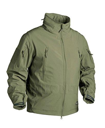 Preisvergleich Produktbild Helikon Gunfighter Shark Skin Softshell Tactical Jacke Sicherheit Army Military Gr. XL,  Mehrfarbig - Olive