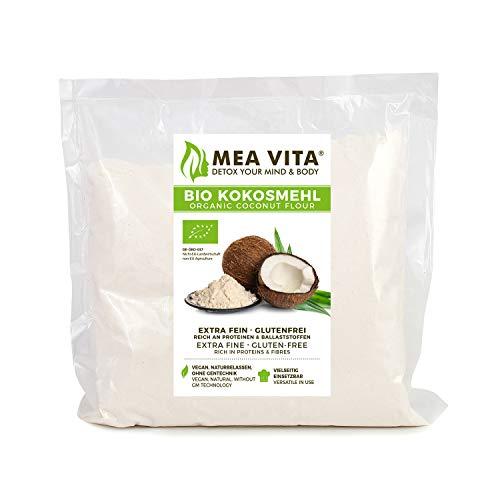MeaVita Bio Kokosmehl glutenfrei, 1er Pack (1 x 1 kg)
