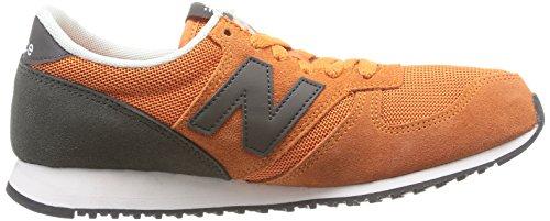 New Balance - U420 D, Sneaker Uomo Grigio (Snoo Grey/Orange)