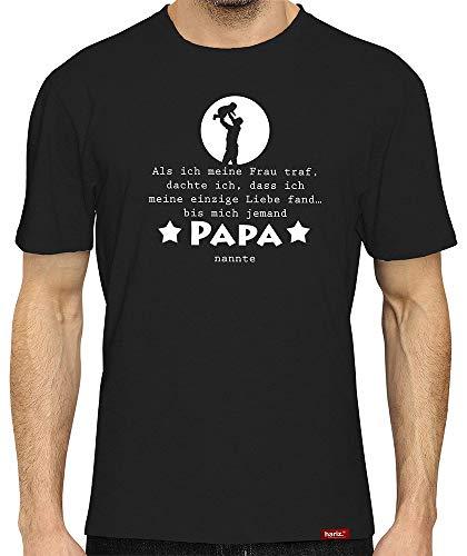 HARIZ  Herren T-Shirt Papa Collection 36 Designs Wählbar Schwarz Vatertag Weihnachten Männer Geschenk Karte Urkunde Papa12 Bis Mich Jemand Papa Nannte 5XL