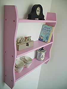 70cm High Plain Pink Pine Shelves, Kitchen Shelves, Bathroom Shelves, Bedroom Shelves, Shelf, Bookcase, Toy Storage, DVD rack.