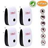 Baseus Ultrasonic Pest Repeller, 4 Pack Pest Control - Best Reviews Guide