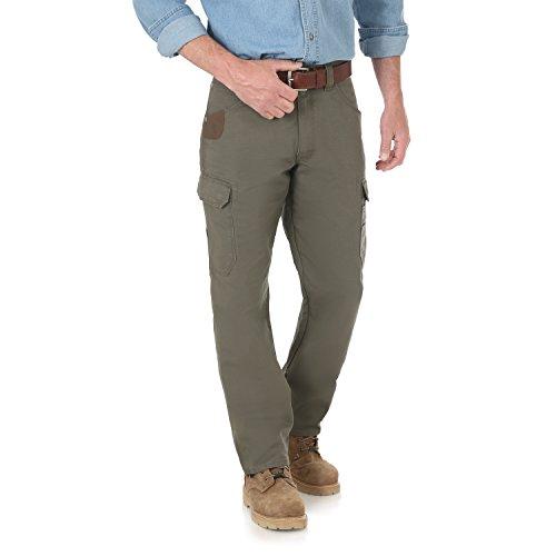 Wrangler Herren Riggs Workwear Cool Vantage Ripstop Cargo Pant Arbeitshose, Loden, 34W / 30L (Kleider Juniors Arbeit)