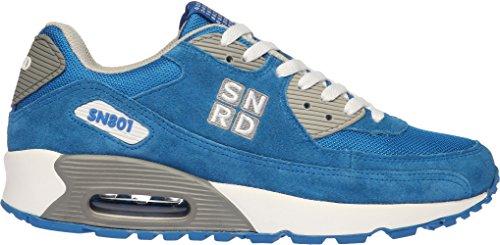 SN801 Casual coussin d'Air Unisexe Sport Baskets mode Bleu - bleu