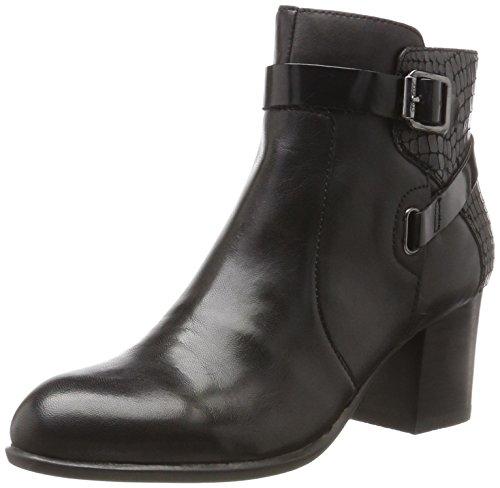 Stonefly Damen Molly 2 Nappa Chelsea Boots, Schwarz (Nero/Black), 38 EU (Heel High Ankle Nappa Boot)