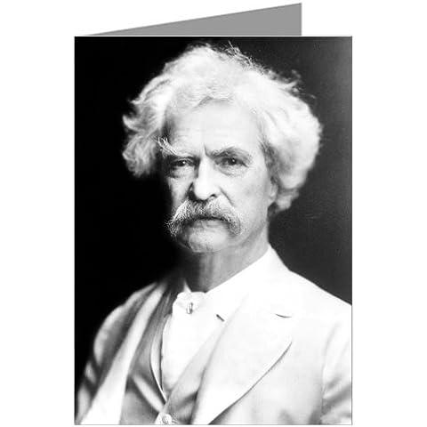 Mark Twain gitamine americano e umorista, qui nel 1907 Gru§scheda il concretizzerà