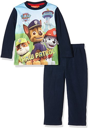 nickelodeon-paw-patrol-is-on-the-roll-ensemble-de-pyjama-garcon-bleu-bleu-marine-5-ans