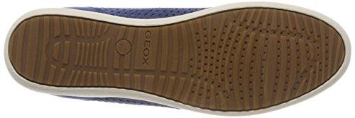 Geox D Myria B, Sneaker Donna Blu (Denim)
