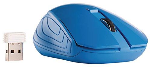 Preisvergleich Produktbild Eurosell Wireless Mouse - Funk Maus USB mit Nano Empfänger - blau