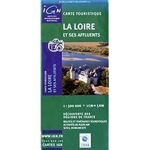 Carte de randonnée : La Loire et ses affluents
